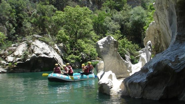 Lousios-Alfeios Rafting